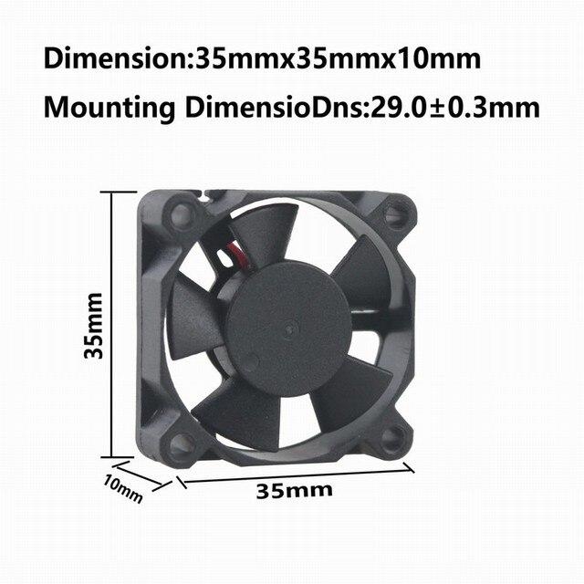 1 шт gdstime 35 см мм x 10 12 в 3510 шариковый подшипник dc фотография