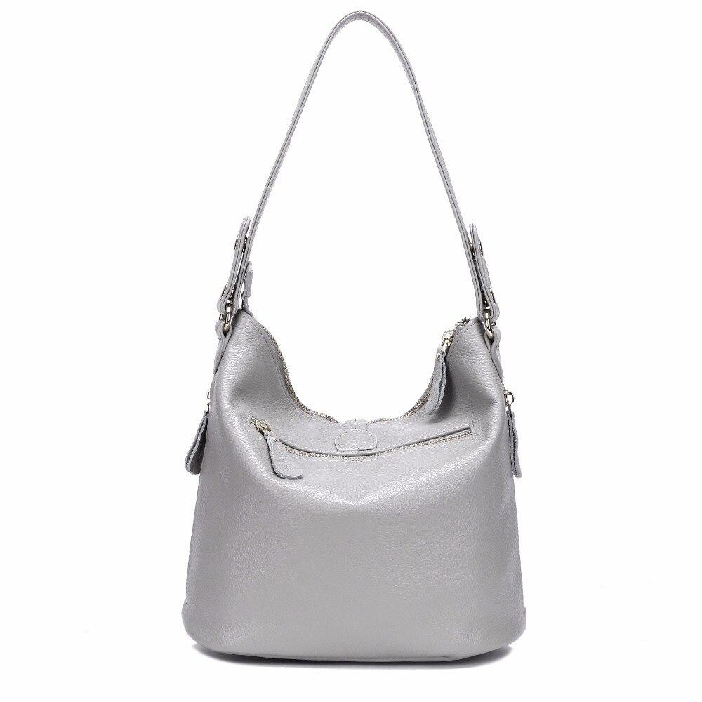 100% petit sac à bandoulière femme en cuir véritable petit sac à main femme bandoulière Messenger blanc Beige sac-in Sacs à bandoulière from Baggages et sacs    3