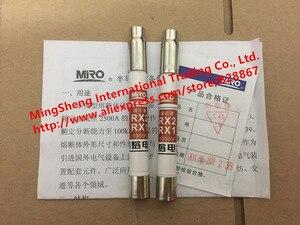 Original nuevo 100% fusible alarma impactador RX2-1000V RX1-1000V RX1 RX2 1000 V