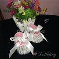 Bautizo Blanco Puro Cinta de encaje arco Briades diseñador vestido de novia Rústico Embellecido perlas de bebé hechos a mano