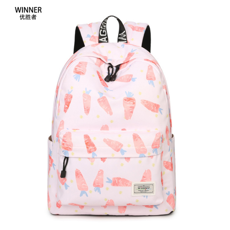 Winner School Backpack Women Children Schoolbag Back Pack Leisure Korean Ladies Knapsack Laptop Travel Bags for
