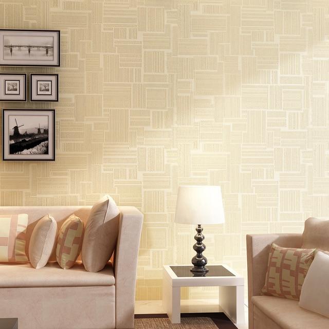 US $29.68 47% di SCONTO|Beibehang Moderno semplice figure geometriche  verticale carta da parati camera da letto soggiorno albergo negozio di ...