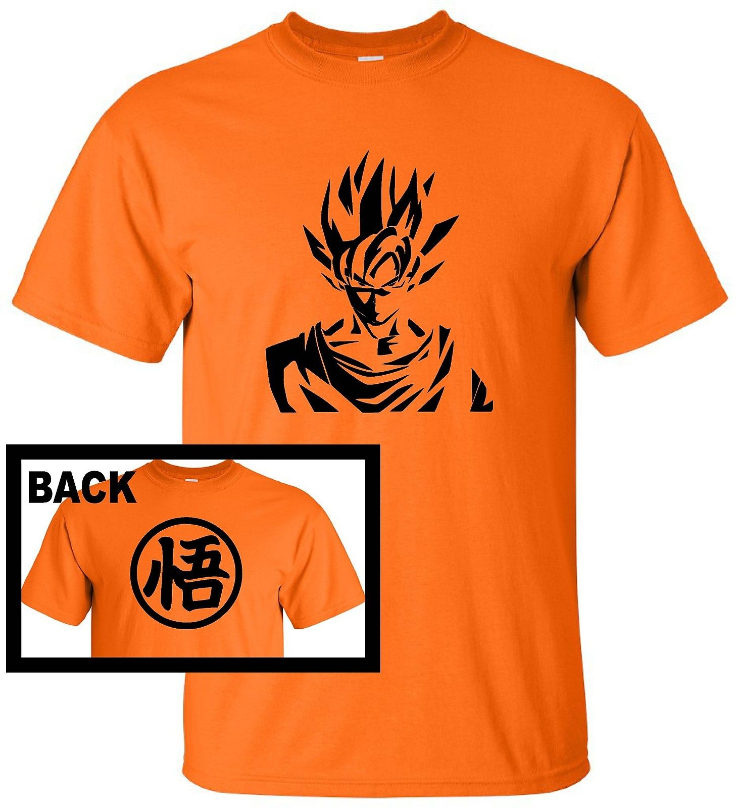 69faf0d4 Japanese Dragon Ball Z Anime DBZ SUPER SAIYAN G2 Funny T Shirt Goku Cosplay Free  shipping tshirt Harajuku Tops Fashion Classic