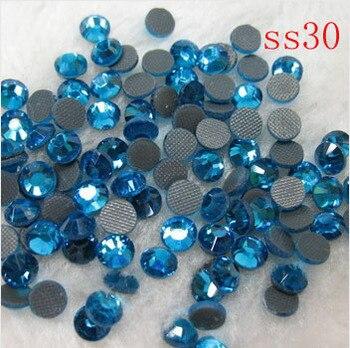 ss30 40gross/5760pcs Free Shipping Crystal  DMC Hot Fix Rhinestone Machine Cut Stones (4.6-4.8mm)