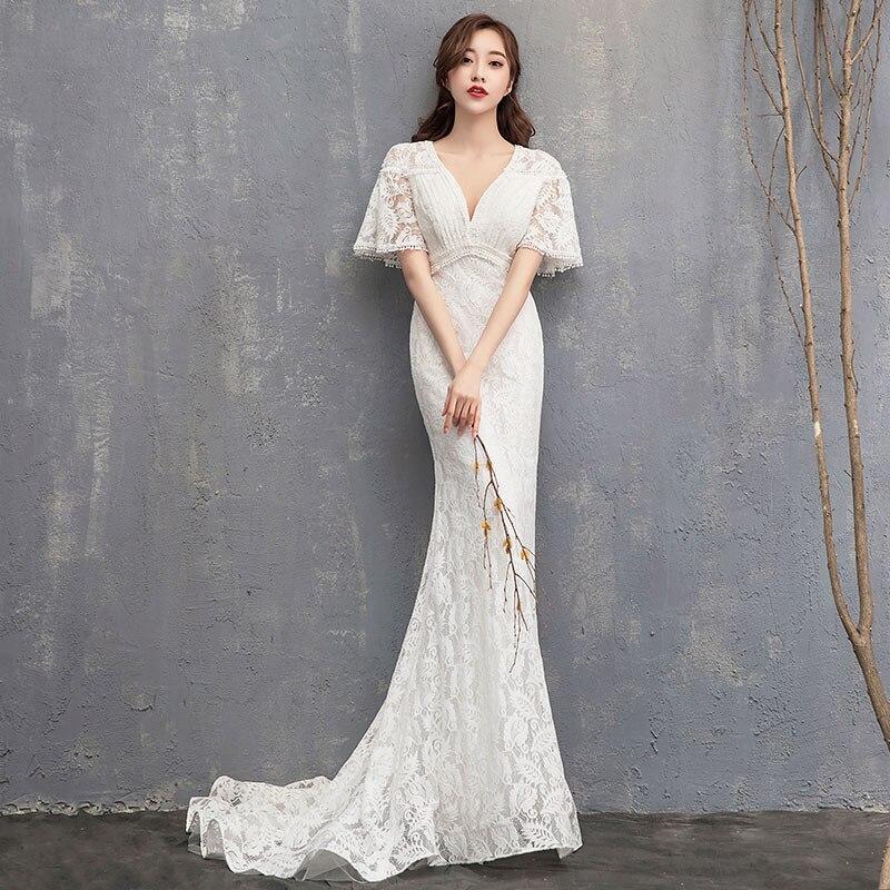 dc2537bb067 Подробнее Обратная связь Вопросы о Простое свадебное платье 2019 ...