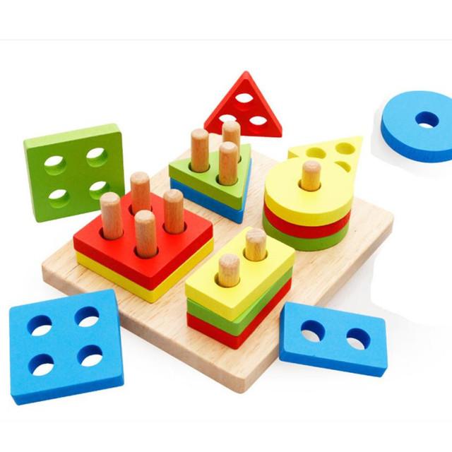 Wooden Geometry Shape Sorter