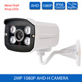 New 2MP AHD Analog security Camera 2MP Full 1080P AHD-H CCTV Camera Surveillance Outdoor IR 4pcs Array LEDs for cctv ahd dvr