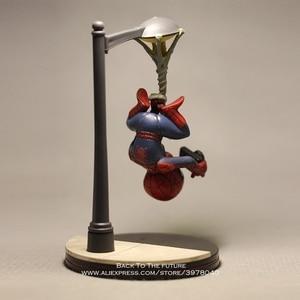 Image 5 - Disney Marvel Avengers 14cm Spider Man take photo Action Figure Model Anime Mini Doll Decoration Collection Figurine Toys model