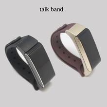Betreasure K2S talkband Bluetooth Smart Браслет Фитнес трекер вызов напомнить съемный SmartBand смарт-браслет для iOS и Android