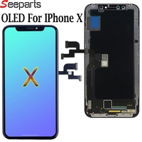 3D Touch OEM AMOLED LCD Display For iPhone X LCD XS XR Display Screen Digitizer Assembly Replacement Parts X XS Max Phone LCDs