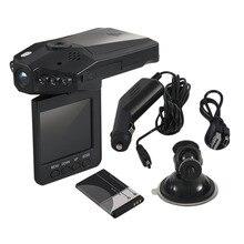Профессиональный 2,5 дюймов Full HD 1080 P Видеорегистраторы для автомобилей автомобиля Камера видео Регистраторы регистраторы инфра-красный Камера