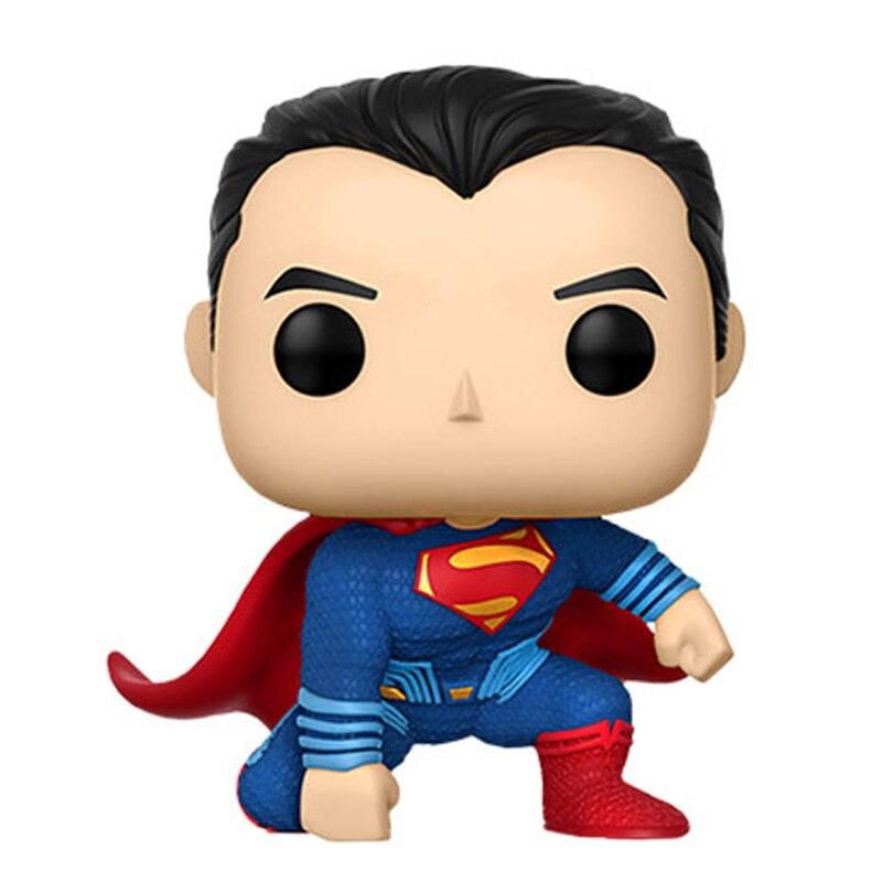 DC Super Hero Justice League Figure Batman The Flash Wonder Woman Cyborg Superman Aquaman Toys With Box 4″ 10cm