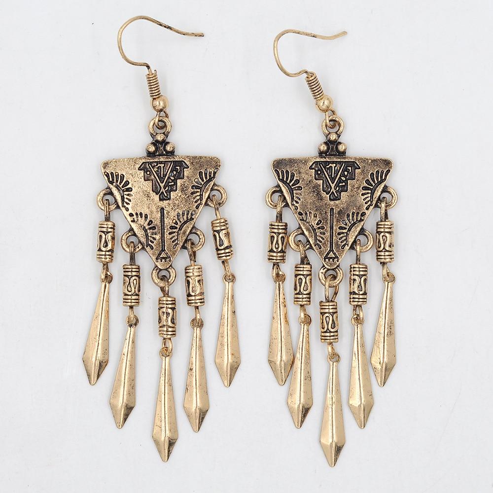 42d90c64f1d0 ⓪Pendientes de plata antigua Boho araña Earrings Boucles d oreilles ...