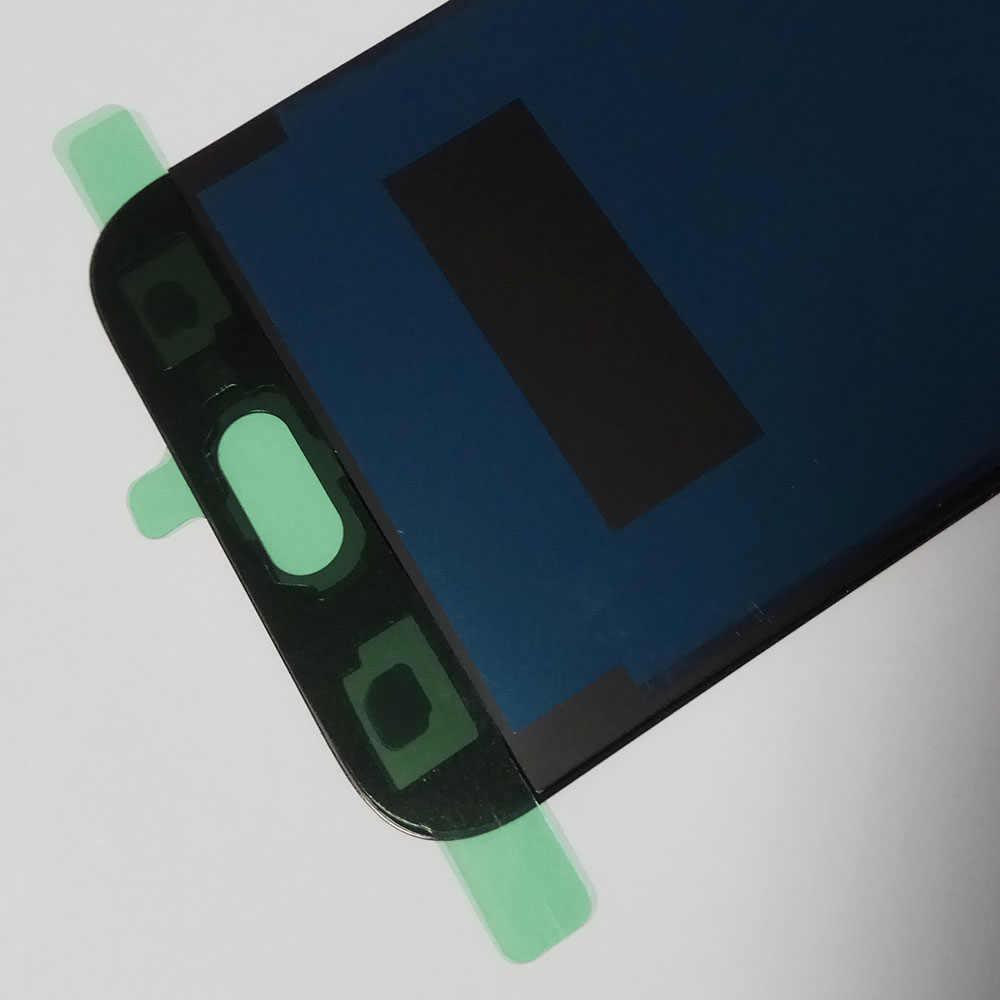 Sobusy شاشات LCD لسامسونج غالاكسي J5 برو 2017 J530F SM-J530F شاشة الكريستال السائل محول الأرقام بشاشة تعمل بلمس لسامسونج j5 برو LCD بانتيلا تيلا