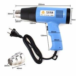 Image 5 - Электрический тепловой пистолет, Многофункциональный ручной пистолет с регулируемой температурой, 220 В, 220 В, 110 В, 1500 Вт