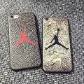 Мода Air Jordan Майкл Джордан Прыжок Человек Чикаго Буллз ТПУ Телефон Case крышка Для iPhone 6 6 s 6 plus 6 s плюс 7 7 плюс