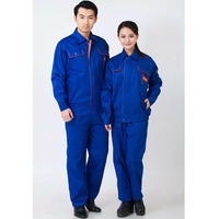 Work Clothing Unisex Uniform Long Sleeve Coveralls Protective Cloth for Worker Repairman Machine Auto Repair Welding DYF048