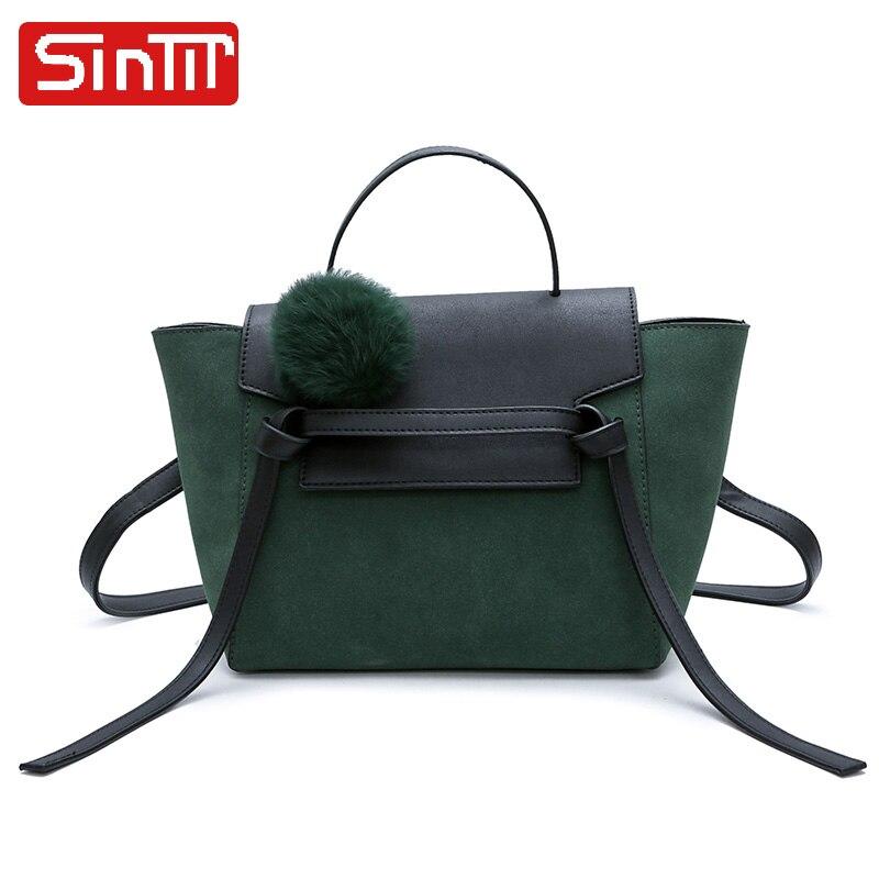 SINTIR Fur Ball Kvinna Handväskor Designer Lyx Märke Hög Kvalitet - Handväskor - Foto 2
