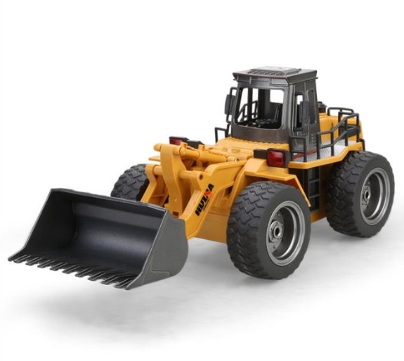 1/18 RC truck model with Metal Bulldozer Charging Machines vehicle model toys for kids gifts child