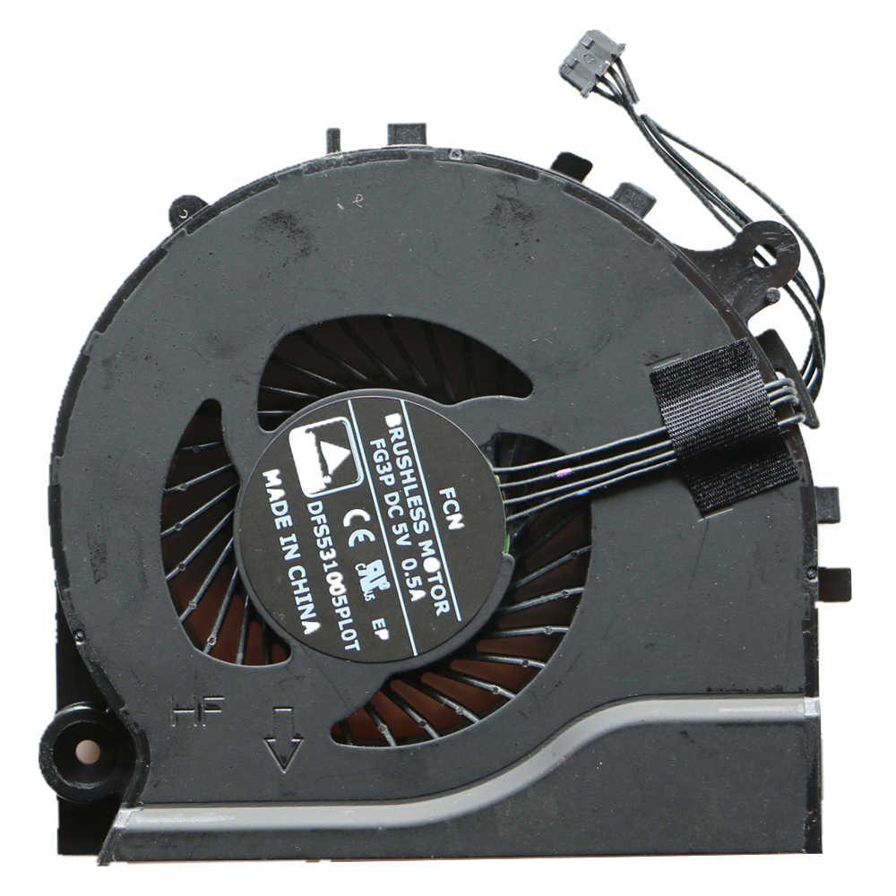 New Cpu Fan Đối Với Hasee K550D K550D-I5 K550D-I7 Cpu Cooling Fan