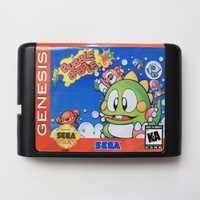 Super Blase Bobble 16 bit SEGA MD Game Card Für Sega Mega Drive Für Genesis