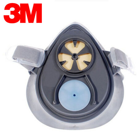ФОТО 3M 3200 Half Face Mask Respirator Safety Protective Face Mask Anti Dust Anti Organic Vapors NIOSH Approved LT117