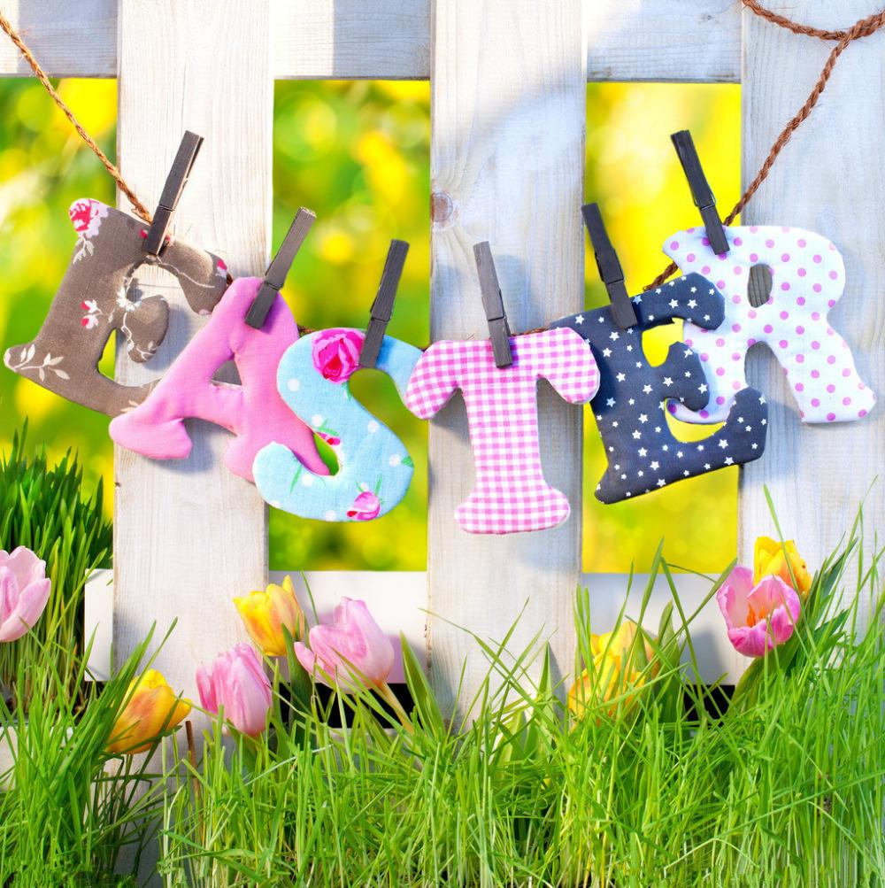 10X10FT Easter  theme Vinyl Photography Backdrop Prop Photo Studio Backgrounds FH-299 shengyongbao 7x5ft vinyl custom photography backdrop prop white brick wall theme studio background nwz 02