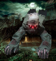 1Piece Halloween Party Essentials Skull Collection Crawling Zombie Ghost Skull Eyes with Lights