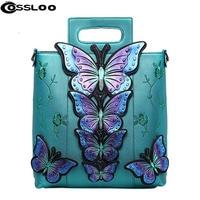 Women Handbag Luxury Flower Bow Tote Bag Bucket Shoulder Bags Bolsas Famous Brands Vintage National Trend
