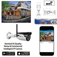 Умный Дом Wifi IP 66 ONVIF Водонепроницаемые ИК CUT ночного Видения Подключи и Играй Мини Пуля Wi-Fi Ethernet IP камера