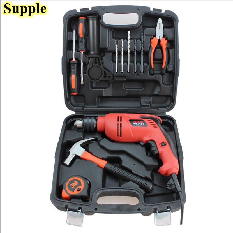 Supple high quality 12 in 1 electric drill household power tool set multi - functional hardware sets of toolbox high quality iss g200 1 pb niagara2250 60 pci sales all kinds of motherboard
