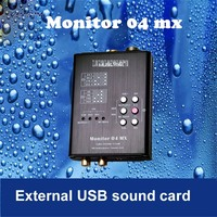 1PC New Promotions Monitor 04 MX Both USB Sound Card And Hifi Player 32 Bit HD