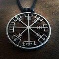 1 шт. викинг один символ норвежский рунический ожерелье Викинг Руны Vegvisir Компас Кулон