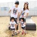 Caliente , padre , madre del bebé corto manga de la camiseta familia mirada parejas ropa de la madre hijo trajes venta al por mayor ropa barata China