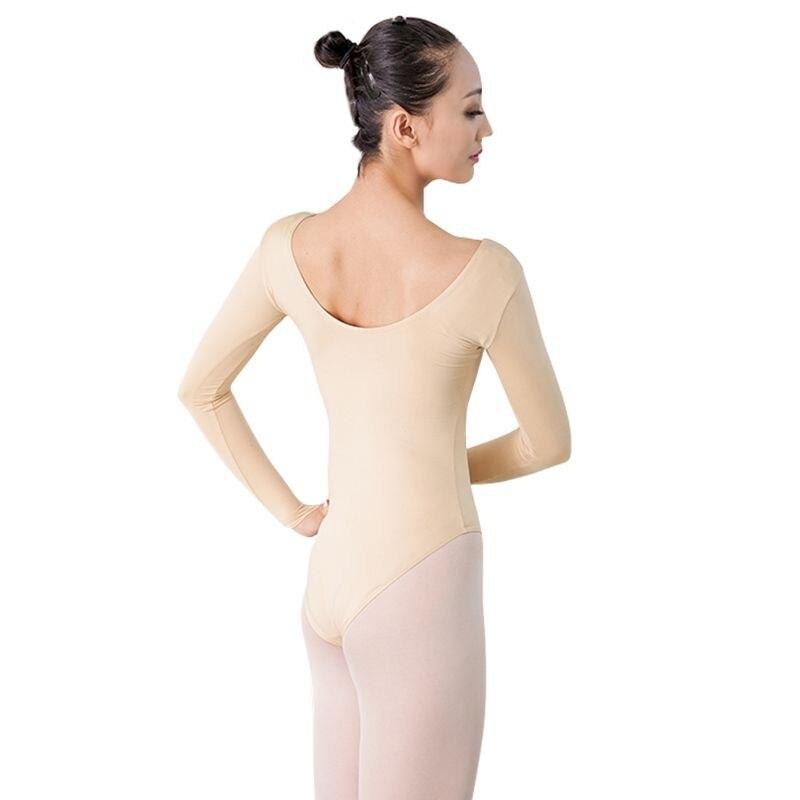 girls-women-long-sleeve-turtleneck-dance-leotard-sexy-gymnastics-leotard-cotton-adult-font-b-ballet-b-font-costumes