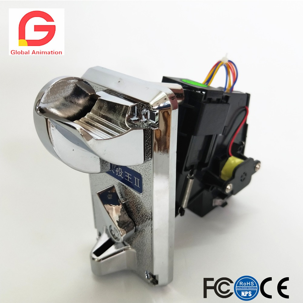 Arcade Parts Advanced CPU High Speed Inserting Front Entry Single Coin Selector JY-930 Coin Acceptor, Coin Validator, Coin Mech