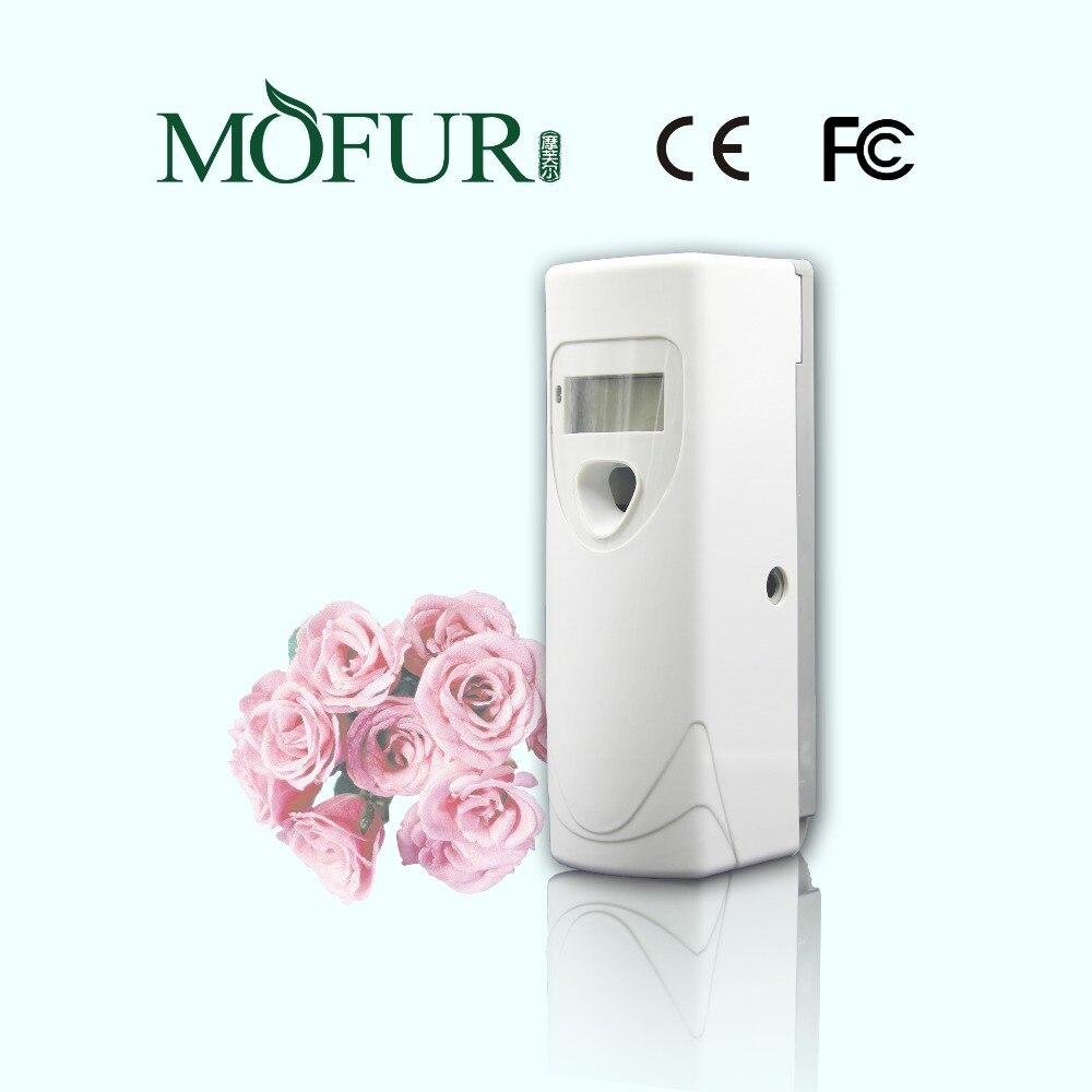 Odour neutralizer aerosol dispenser auto lcd digital air for Air freshener for bathroom