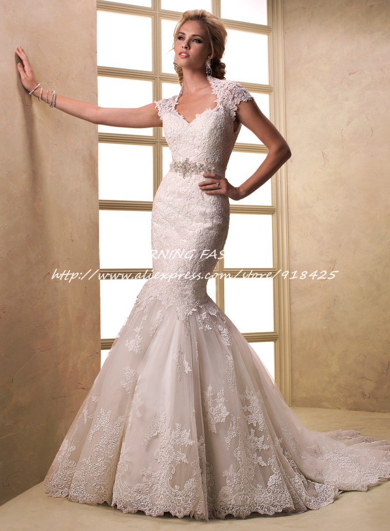 Compare Prices on Lace Wedding Dresses with Keyhole Back- Online ...