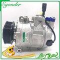 Авто компрессор переменного тока 7SEU17C для Фольксваген AMAROK MULTIVAN RANSPORTER CARAVELLE Bus 2 0 TDI 7E0820803 7E0820803F 447150-1520