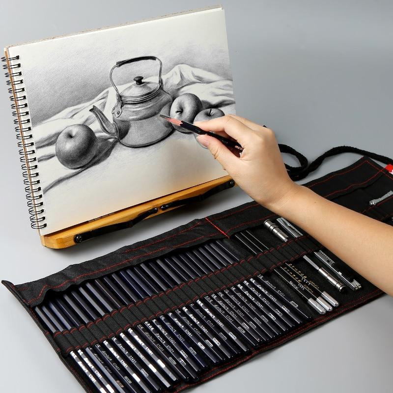 Sketch Set Painting Special Tools Pen Curtain Full Set Of Soft Carbon Pen Carbon Pen HB12B2 Pencil Art Supplies