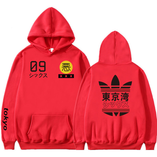 2019 New Men Women Hoodies harajuku Spring Sweatshirts Tokyo Bay Hoodies outwear Fashion Rubber powder Hip-Hop boys Clothes  2