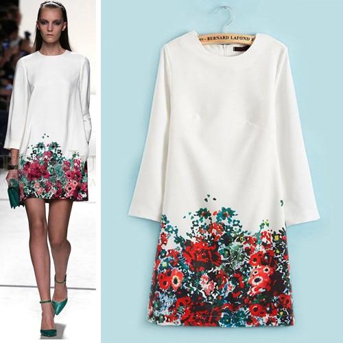 Vestidos blancos con flores