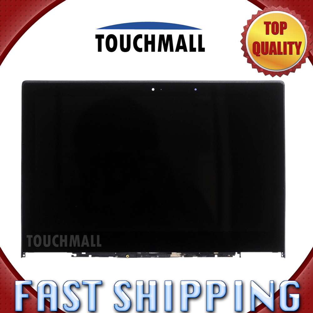 For Lenovo Yoga 2 Pro LTN133YL01-L01 Replacement LCD Display Touch Screen Digitizer + Frame Assembly 13.3-inch Black for Laptop for lenovo vibe x2 pro lcd display touch screen panel with frame digitizer accessories for lenovo vibe x2 pro x2pt5 5 3 phone