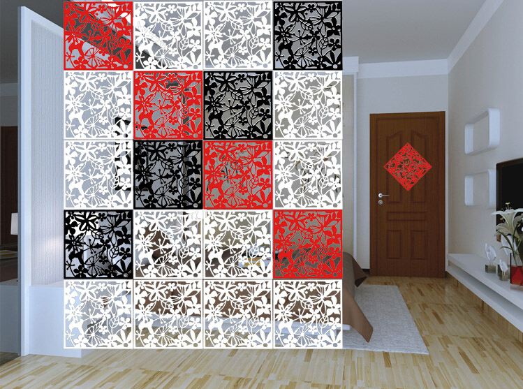 8 Pcs Diy Wall Decoration Modern Minimalist Living Room Curtains Tv Backdrop Mural Decoration Personality Parion
