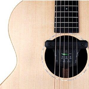 Image 4 - Pick up de guitare acoustique DOUBLE G0 avec retard, Reverb, effets magnétiques Piezo Soundhole, accessoires de guitare à fréquence micro