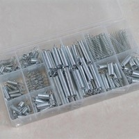 200PCS Set Practical Metal Tension Compresion Springs Assortment In 20 Sizes 5 6 8 10 12mm