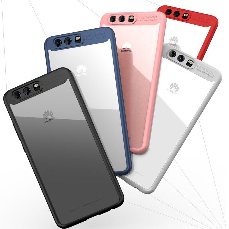 Freier Harter Acryl Rückseite Silikon Rahmen Fall für Huawei P10 ...
