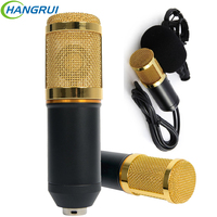 Bm800 Microfone Condensador Profissional Studio Vocal Recording Mic KTV Karaoke Microphone With Plastic Shock Mount Broadcasting