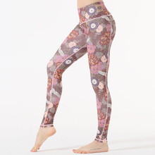 Yoga Pants Women Sports Clothing Chinese Style Printed leggings Fitness Running Tights Sport Compression