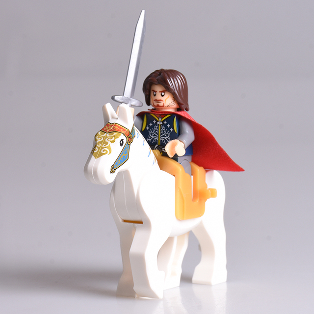 Hobbit Lord of the Rings Knight/Horse set
